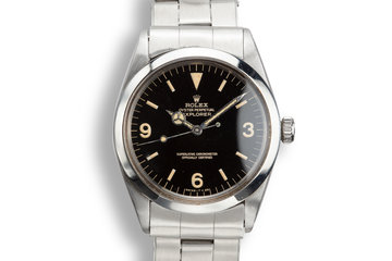 1967 Rolex Explorer 1016 Gilt Dial photo