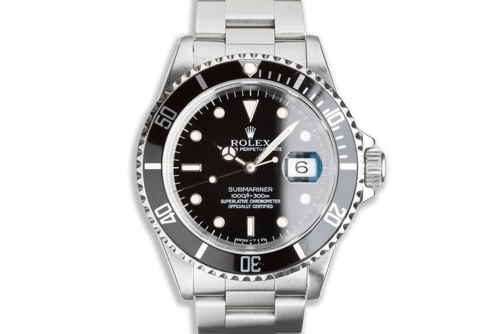 1993 Rolex Submariner 16610 with Box, Papers & Anchor photo