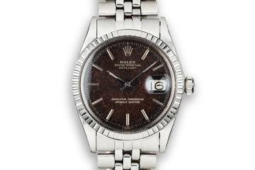 1968 Rolex DateJust 1603 with Tropical Gilt Dial photo