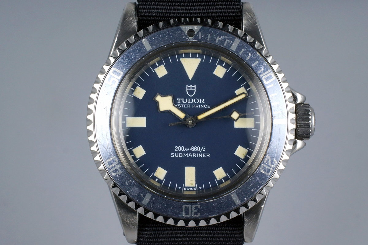 1975 Tudor Submariner 9411/0 Blue Snowflake Marine Nationale with RSC Papers photo, #0