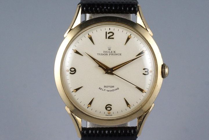Vintage Rolex Tudor Prince 10k Gold Filled Watch photo