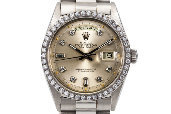 1967 Rolex Platinum Day-Date 1804 photo