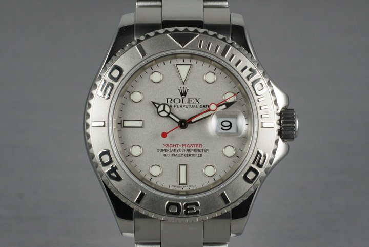 2001 Rolex Yacht-Master 16622 with Box and Papers photo