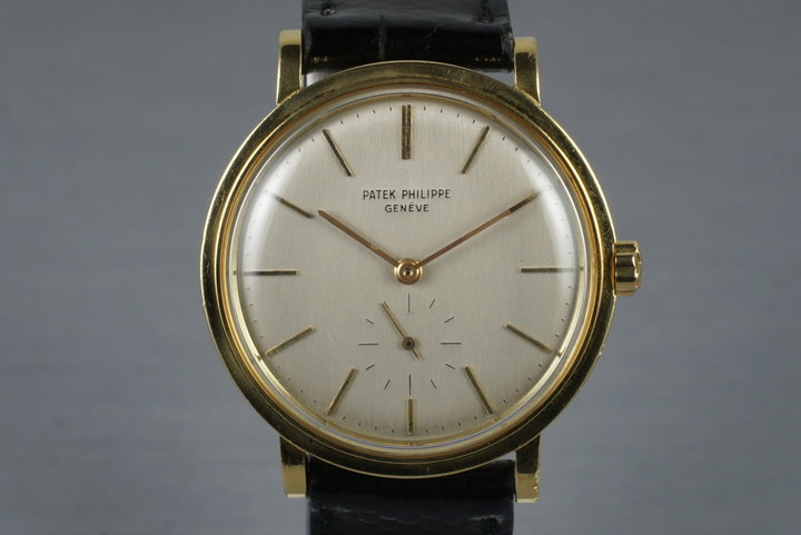 1960's 18K YG Patek Philippe 3429 photo