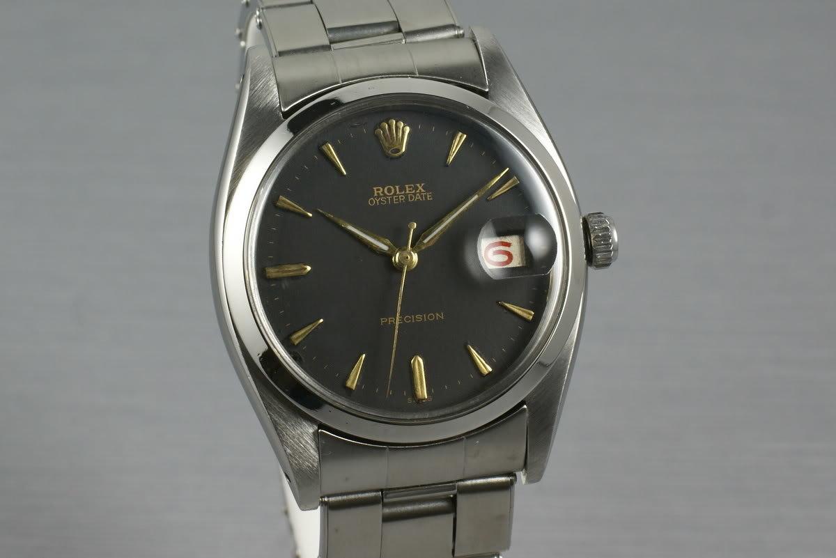 Rolex Precision 6494 Roulette Date wheel photo, #0
