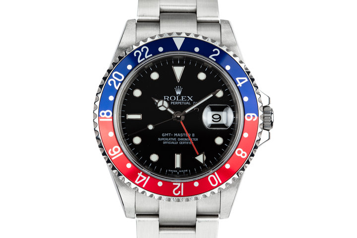 2006 Rolex GMT-Master II 16710 with Box and Papers photo