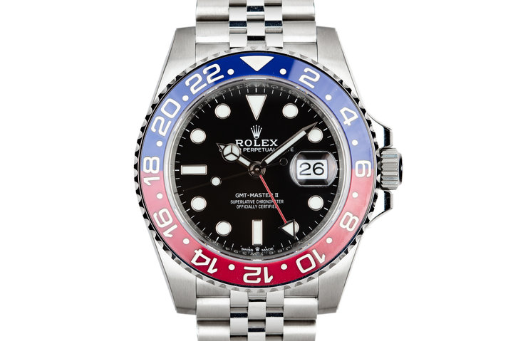 "Mint 2018 Rolex GMT-Master II 126710BLRO ""Pepsi"" with Box and Papers photo"
