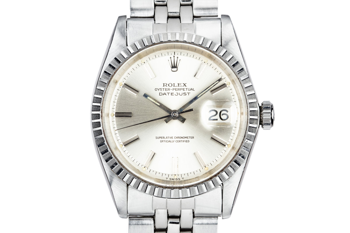 1967 Rolex DateJust 1603 Silver Dial photo, #0