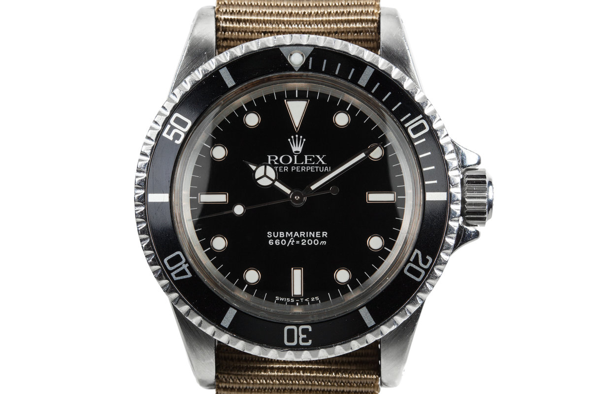 1967 Rolex Submariner 5513 with Service Dial photo, #0