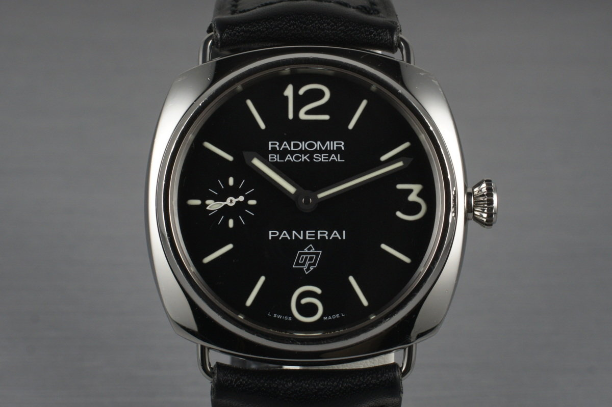 2012 Panerai PAM 380 Radiomir Black Seal with Box and Papers photo, #0
