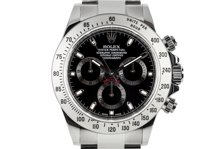 2014 Rolex Daytona 116520 with Box and Papers photo