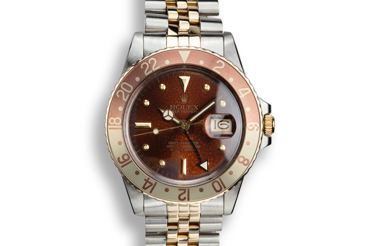 1979 Rolex Two-Tone GMT-Master 16753 Rootbeer Nipple Dial photo, #0