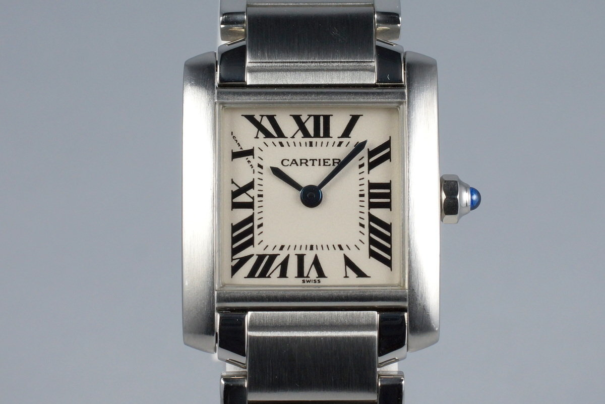 Cartier Ladies Quartz Tank Francaise 2300 photo, #0