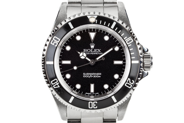1995 Rolex Submariner 14060 with Textured Dial photo