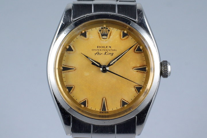 1958 Rolex Air-King 5500 Tropical Dial photo