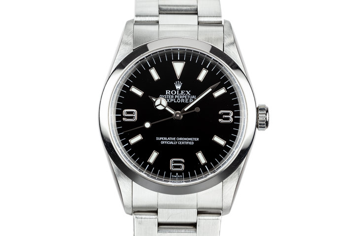 1998 Rolex Explorer 14270 with SWISS Only Dial photo