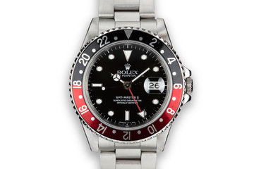 "1989 Rolex GMT-Master II 16710 ""Coke"" photo"