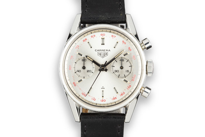 Heuer Carrera 3647ST Silver Dial photo