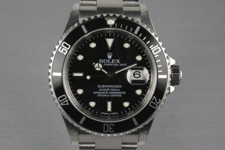 2006 Rolex Submariner 16610 photo