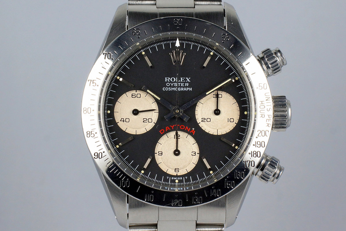 1987 Rolex Daytona 6265 Black Big Red Daytona Dial photo, #0