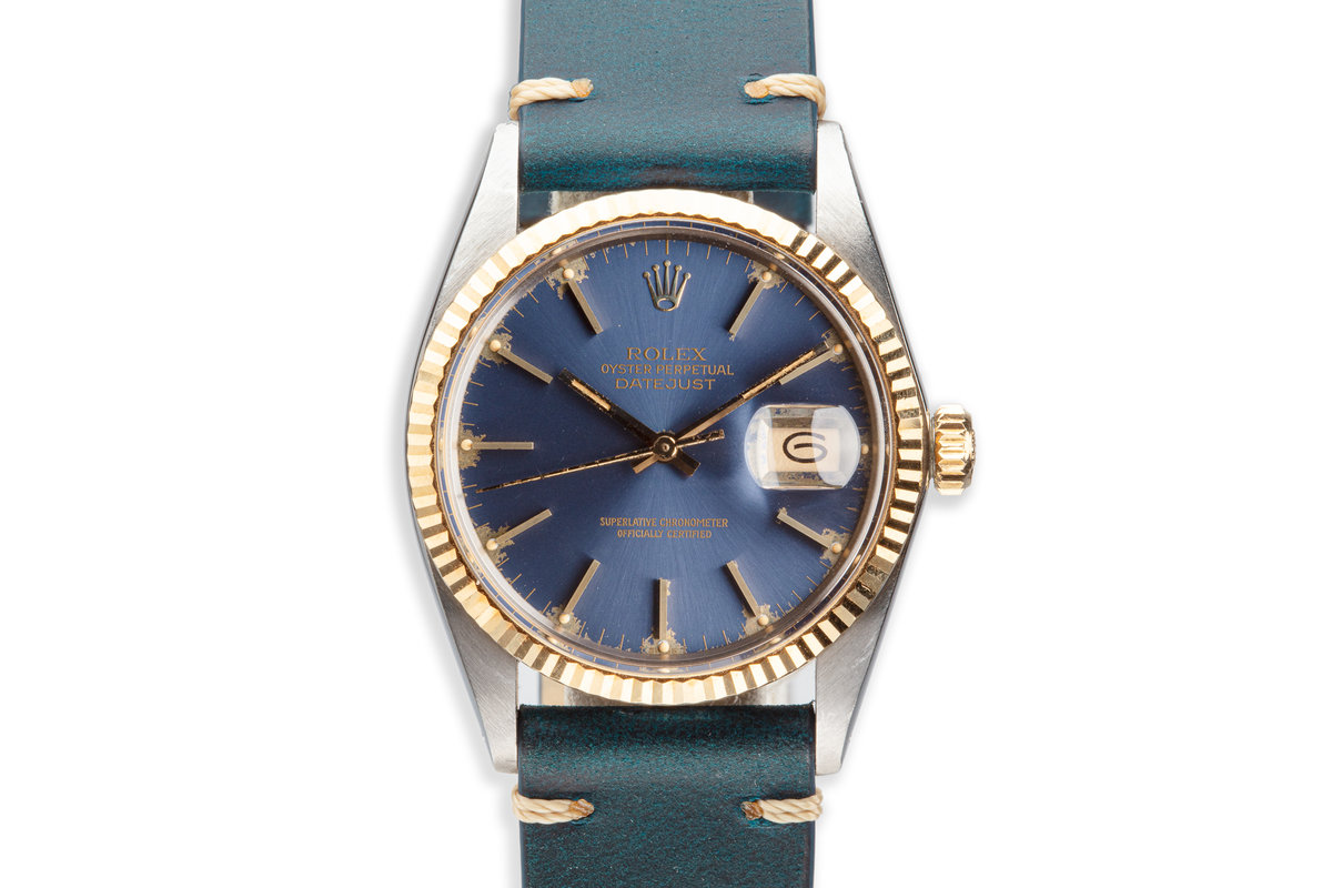 1984 Rolex Two-Tone DateJust 16013 Blue Dial photo, #0