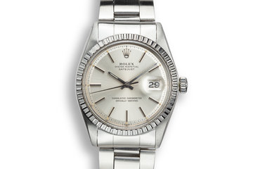 1974 Rolex DateJust 1603 Silver Dial photo