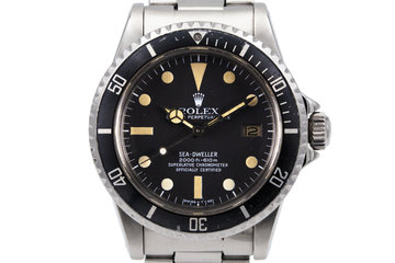 1978 Rolex Sea Dweller 1665 Mark I Dial photo