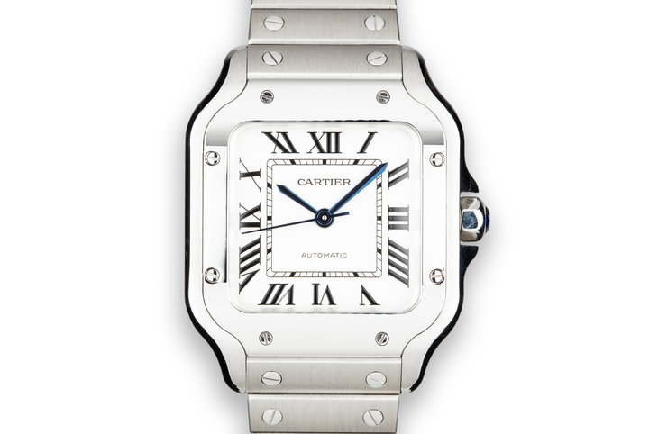 2018 Cartier Santos WSSA0010 with Box and Papers photo