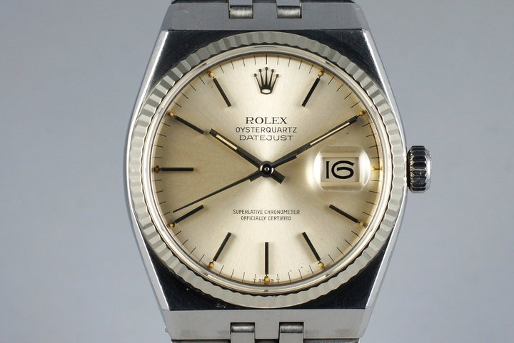 1980 Rolex OysterQuartz Datejust 17014 photo