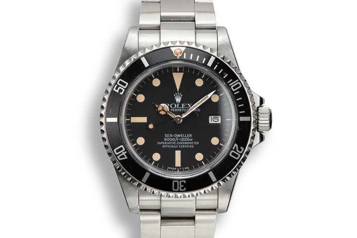 1983 Rolex Sea-Dweller 16660 Matte Dial photo