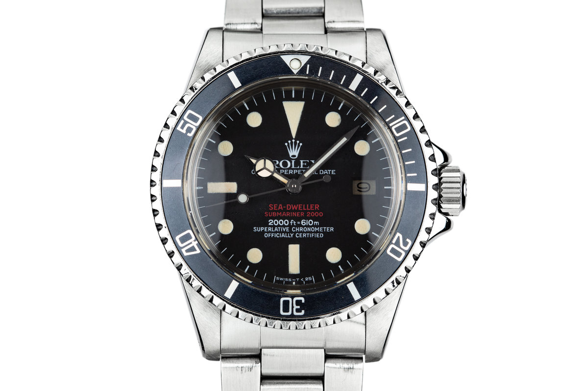 1977 Rolex Double Red Sea-Dweller 1665 photo, #0