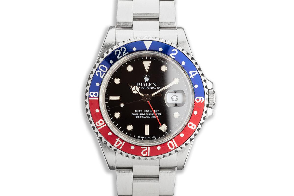 """1991 Rolex GMT-Master 16700 """"Pepsi"""" photo, #0"""