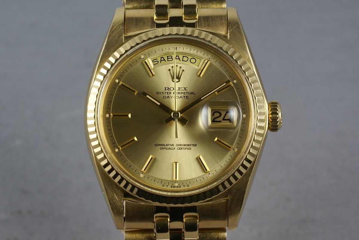 Rolex Vintage YG President 1803 photo, #0