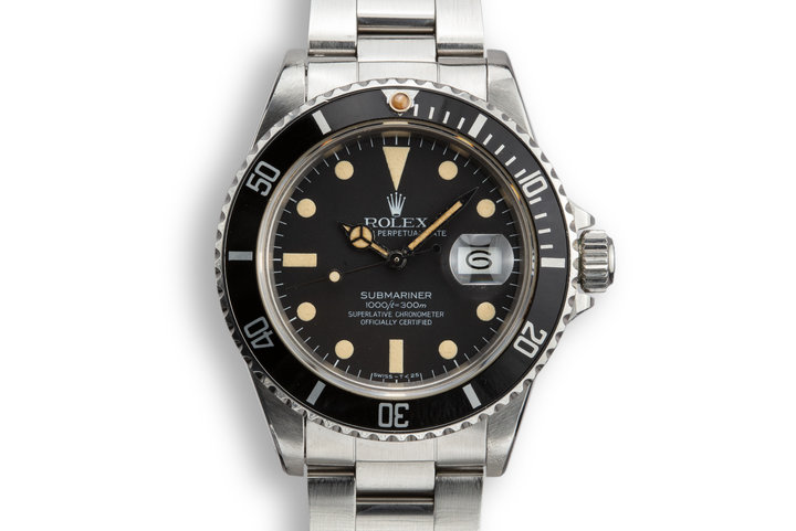1982 Rolex Submariner 16800 Mate Dial with Papers photo