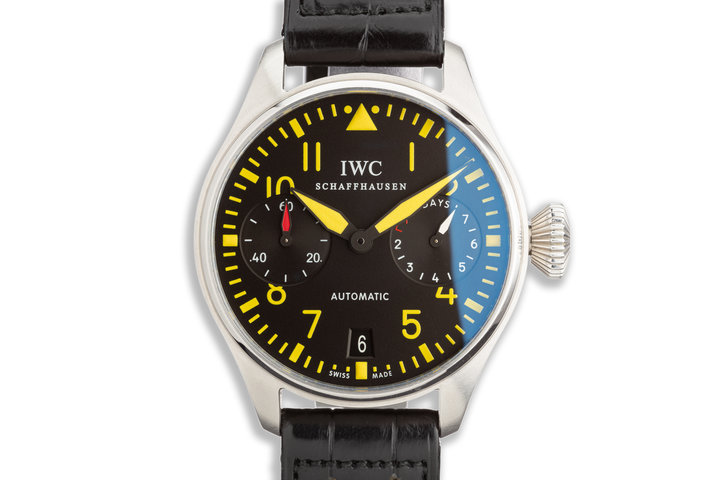 2008 IWC Pilot Chronograph Limited Model IW500412 Limited Edition of 15pcs photo