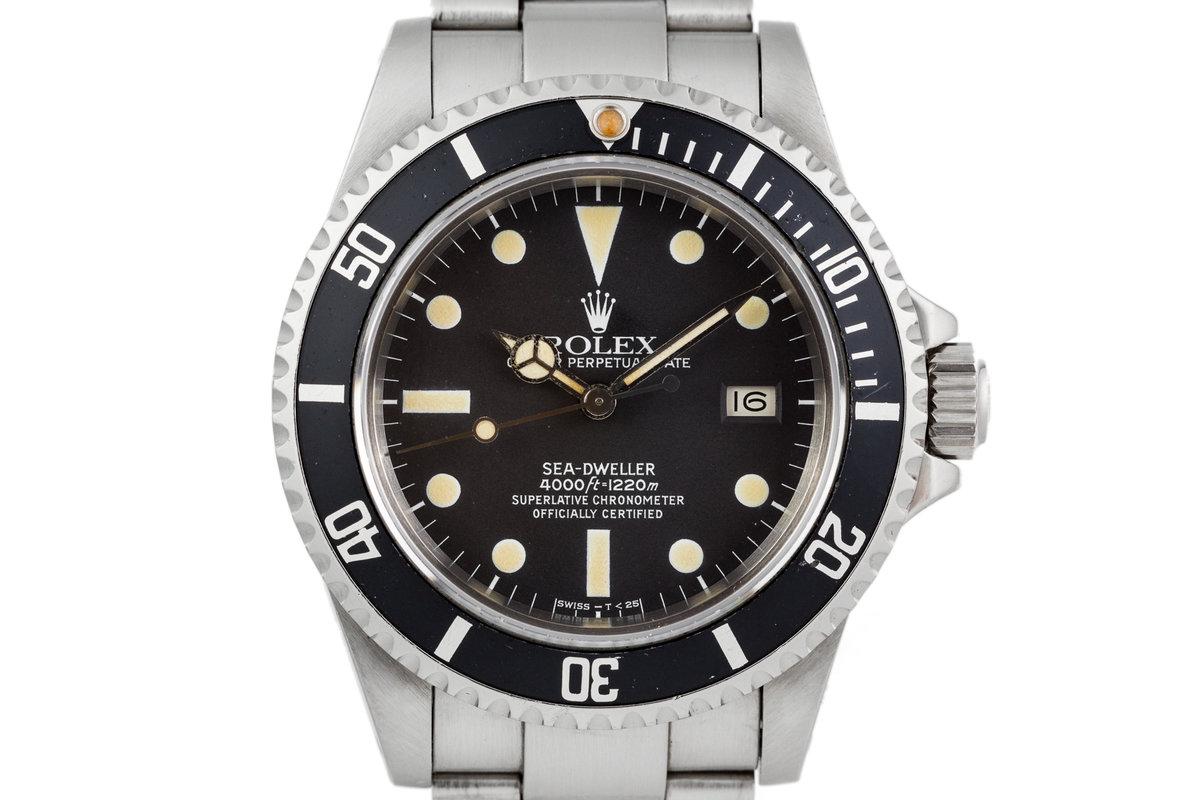 1982 Rolex Sea-Dweller 16660 Matte Dial photo, #0
