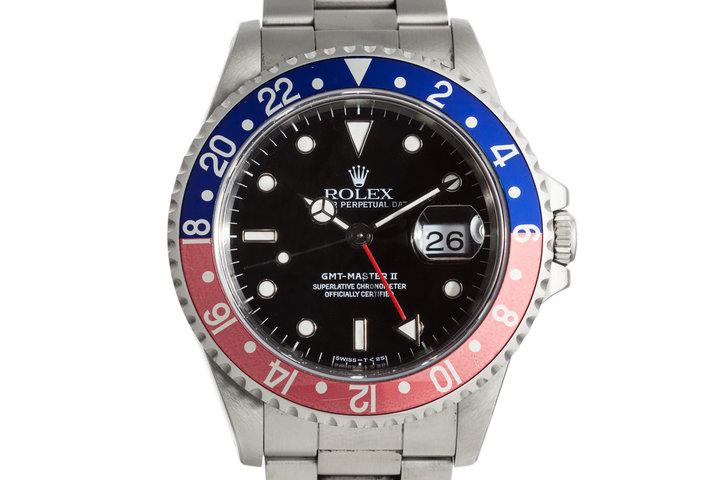 1998 Rolex GMT II 16710 with Faded Pepsi Insert photo