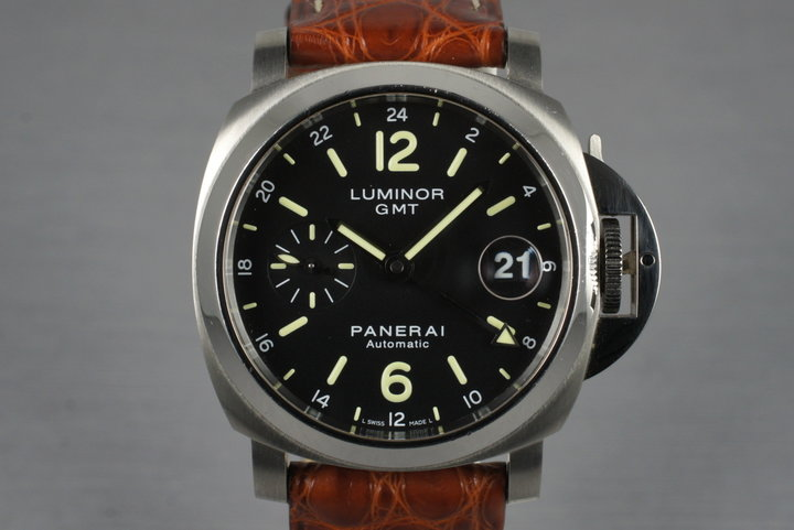 2011 Panerai PAM 244 GMT Previously Owned by Reggie Jackson photo