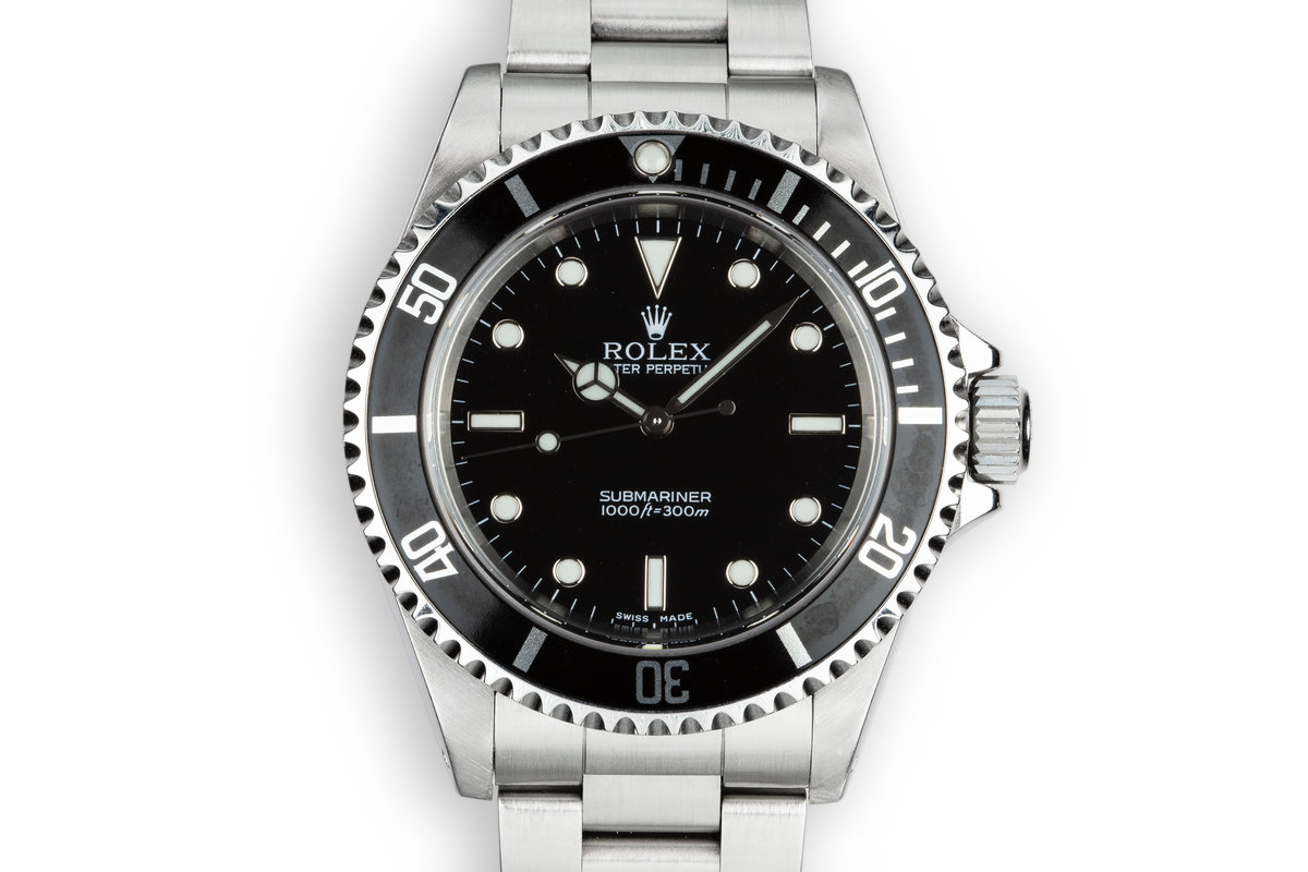 2003 Rolex Submariner 14060M photo, #0