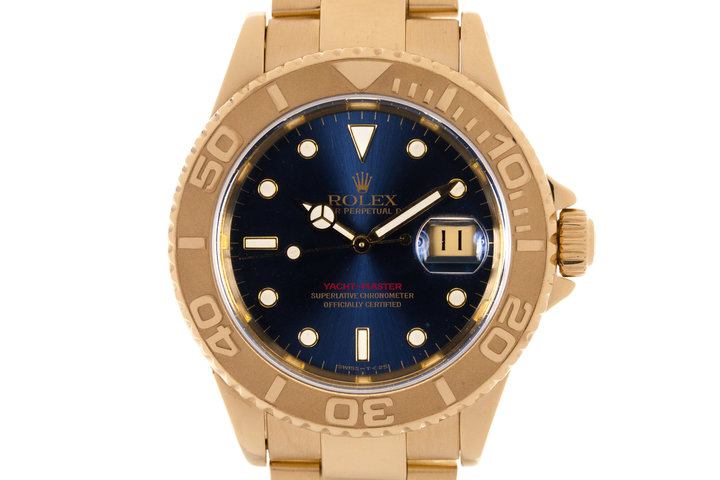 1995 Rolex YG Yacht-Master 16628 photo