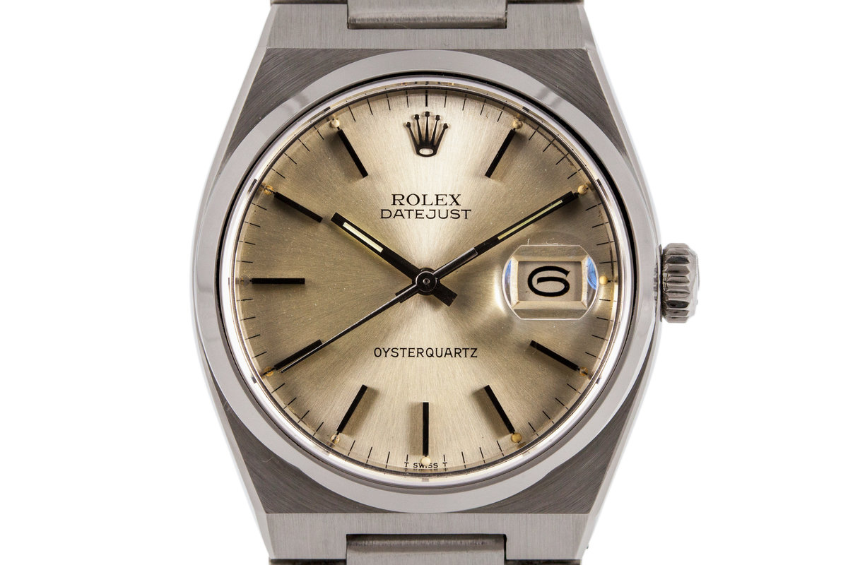 1978 Rolex OysterQuartz DateJust 17000 photo, #0