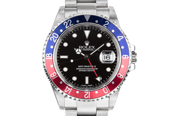 "1999 Rolex GMT-Master II 16710 ""Pepsi"" photo"