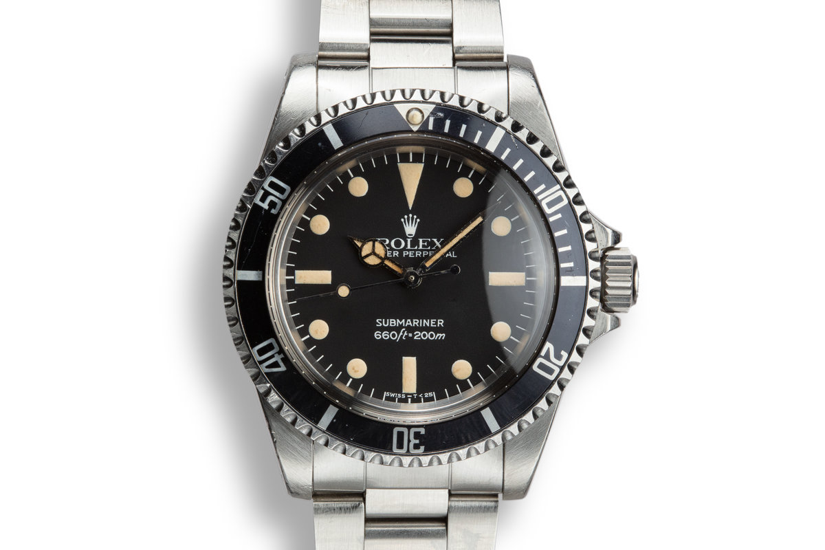 1982 Rolex Submariner 5513 with MK IV Maxi Dial photo, #0