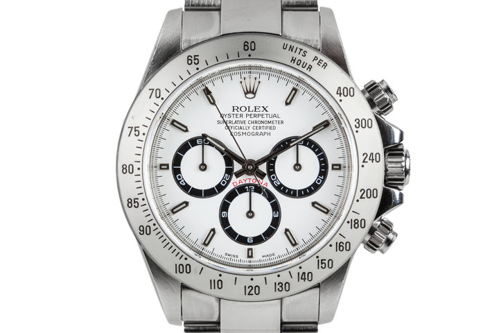 1999 Rolex Daytona 16520 with White Dial photo
