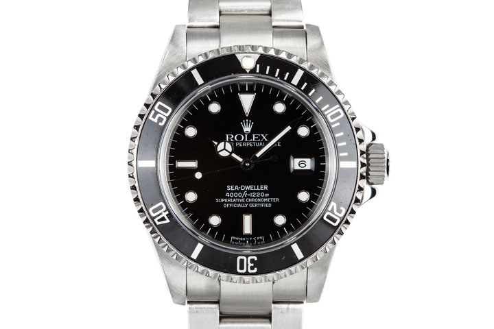 1993 Rolex Sea-Dweller 16600 with Box and Papers photo