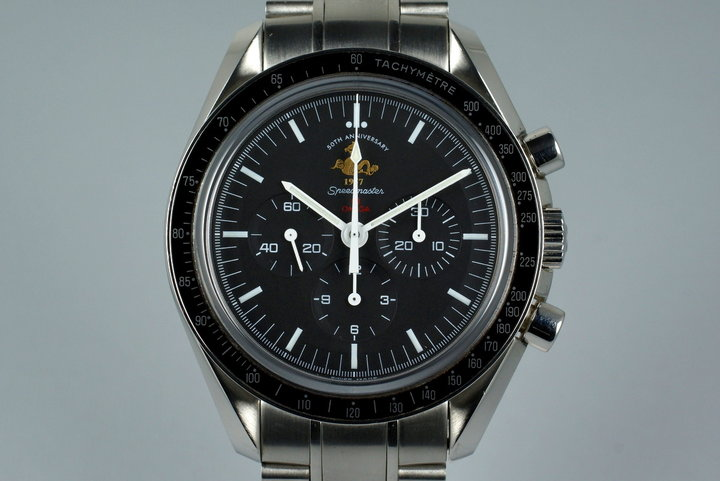 2007 Omega Speedmaster 3113.04.23 50th Anniversary Limited Ed. with Box photo