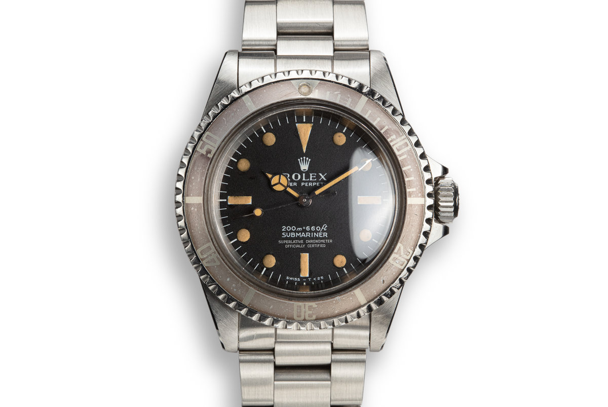 1968 Rolex Submariner 5512 with Meters First Dial photo, #0