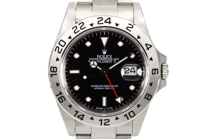 1993 Rolex Explorer II 16570 Black Dial photo