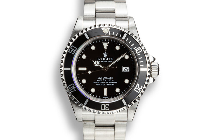 "1999 Rolex Sea-Dweller 16600 with ""SWISS"" Only Dial photo"