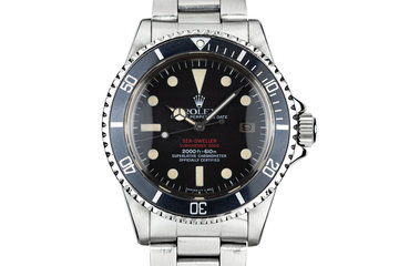 1977 Rolex Double Red Sea-Dweller 1665 Mark IV Dial photo